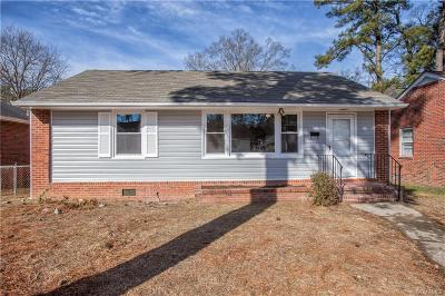 Petersburg Single Family Home For Sale: 811 Hampton Road