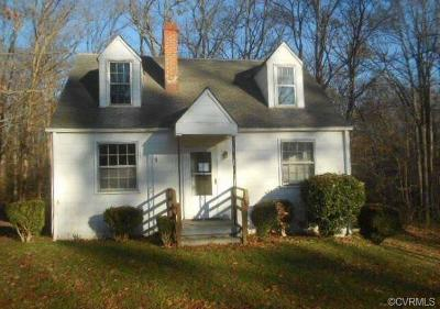 Hanover County Single Family Home For Sale: 8490 Lincoln Road