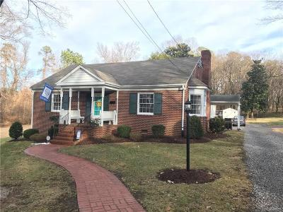 Nottoway County Single Family Home For Sale: 206 Morris Street