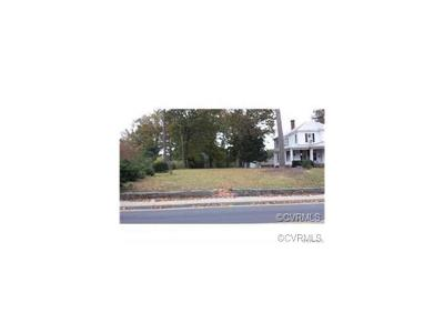 Nottoway County Residential Lots & Land For Sale: 707 South Main