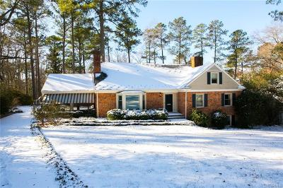 Henrico County Single Family Home For Sale: 8013 Thom Road