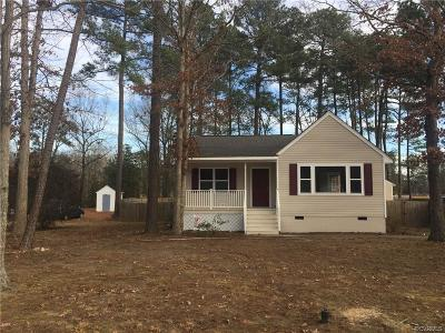 Dinwiddie County Single Family Home For Sale: 4317 McIlwaine Drive