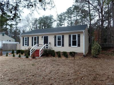 North Chesterfield VA Single Family Home Sold: $128,500
