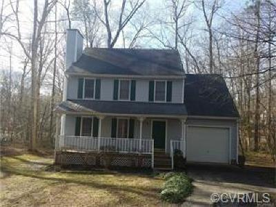 Chesterfield County Rental For Rent: 3317 Seven Oaks Road
