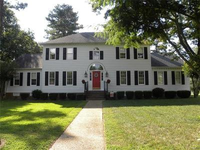 Chesterfield County Single Family Home For Sale: 1512 Clear Springs Lane