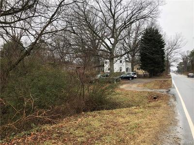 Henrico County Residential Lots & Land For Sale: 1521 Darbytown Road