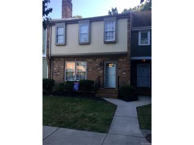 Colonial Heights VA Condo/Townhouse For Sale: $159,000
