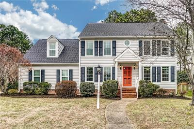 Henrico County Single Family Home For Sale: 3847 Danewood Drive