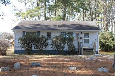 Colonial Heights VA Single Family Home Sold: $68,000