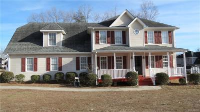 Prince George VA Single Family Home For Sale: $230,000