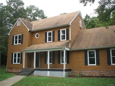 Chesterfield County Rental For Rent: 12404 Natural Bark Drive