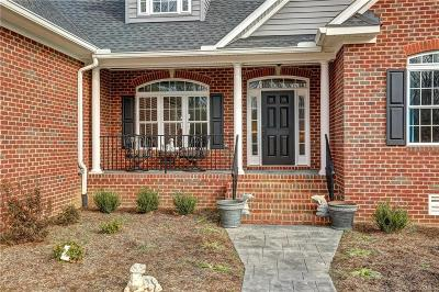 Hanover County Single Family Home For Sale: 8460 Lee Davis Road