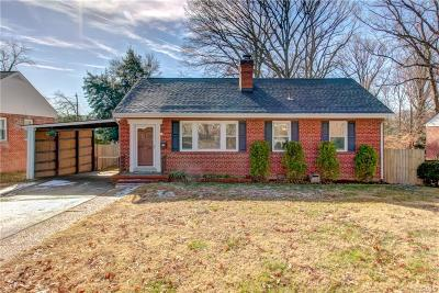 Henrico Single Family Home For Sale: 2809 Oakland Avenue