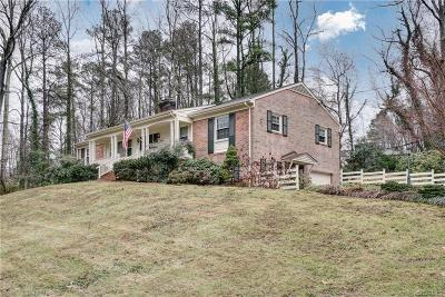 Chesterfield County Single Family Home For Sale: 8001 Whittington Drive