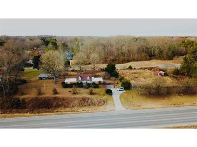 Chesterfield County Single Family Home For Sale: 9100 Hull Street Road