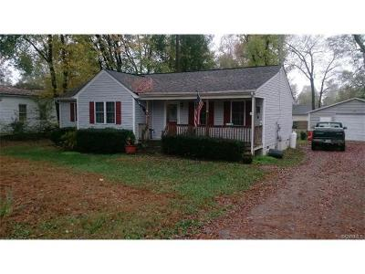 Dinwiddie County Single Family Home For Sale: 10717 Rives Avenue