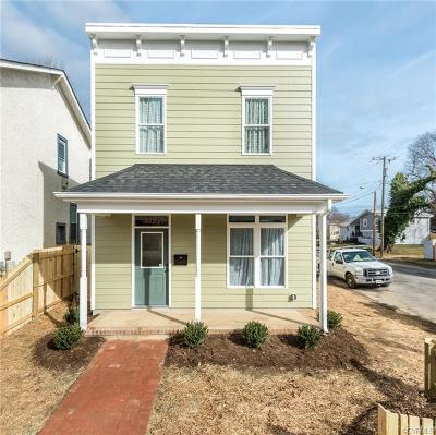 Richmond Single Family Home For Sale: 3224 P Street