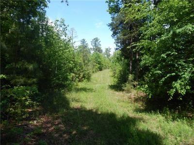 Nottoway County Residential Lots & Land For Sale: Greenhill Road