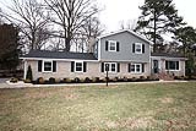 Chesterfield County Single Family Home For Sale: 4612 Overridge Drive