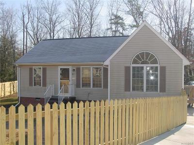 Henrico County Rental For Rent: 421 Chipper Way