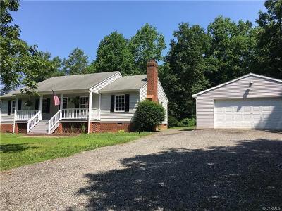 Aylett Single Family Home For Sale: 866 Globe Road