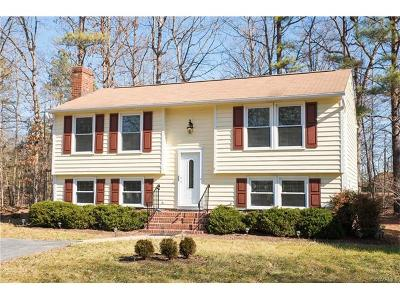 Midlothian Single Family Home For Sale: 2405 Carriage Creek Road
