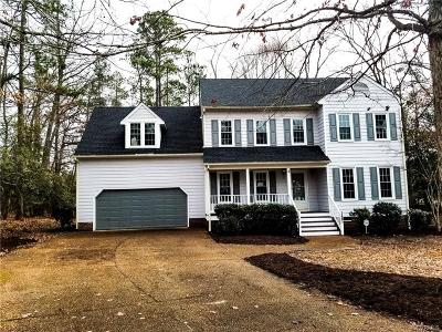 Chesterfield VA Single Family Home For Sale: $264,900