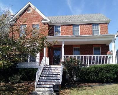 Richmond Single Family Home For Sale: 406 Temple Street