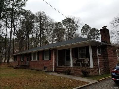 Petersburg Single Family Home For Sale: 2944 Nivram Road