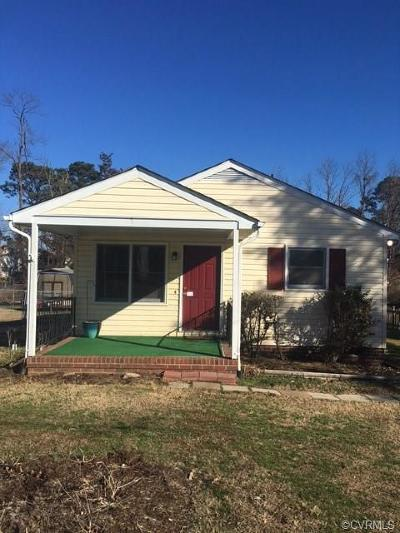 Hanover County Single Family Home For Sale: 8016 Davis Avenue