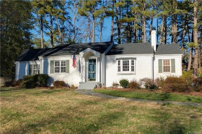 Henrico Single Family Home For Sale: 8008 Carriage Lane