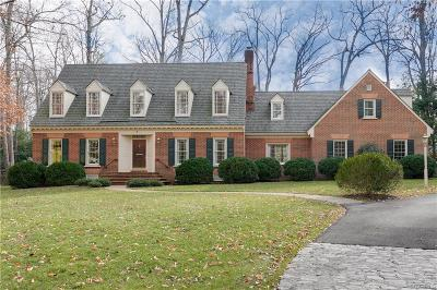 Goochland Single Family Home For Sale: 9 East Lower Tuckahoe Road