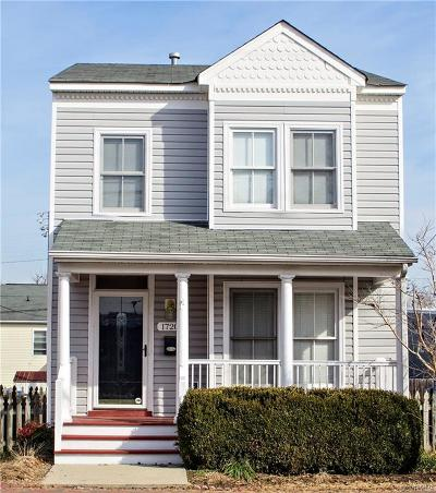 Richmond Single Family Home For Sale: 1720 West Leigh Street