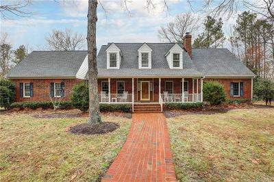 Hanover County Single Family Home For Sale: 6300 Pine Slash Road