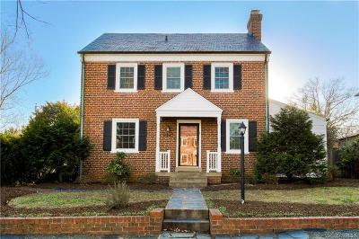 Richmond Single Family Home For Sale: 3403 Wythe Avenue