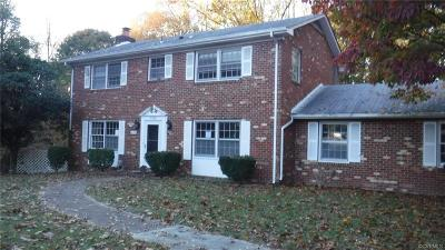 Prince George VA Single Family Home For Sale: $132,950