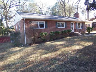 Richmond Single Family Home For Sale: 3125 Blithewood Drive