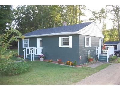Henrico County Single Family Home For Sale: 8350 Bradbury Road
