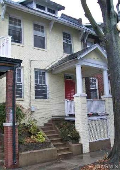 Richmond Single Family Home For Sale: 804 North Cleveland Street