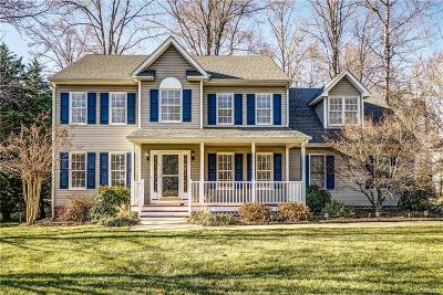 Chesterfield County Single Family Home For Sale: 8113 Hillcreek Drive