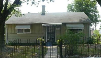 Richmond Single Family Home For Sale: 1835 29th Street