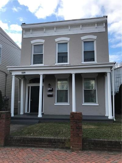 Richmond Multi Family Home For Sale: 1519 West Cary Street