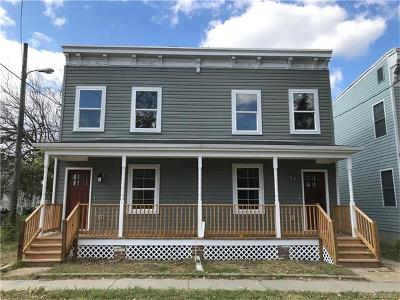 Richmond Single Family Home For Sale: 1100 North 31st Street