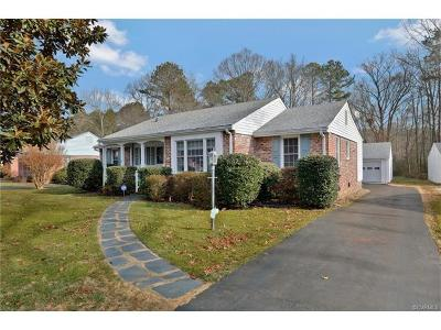 Henrico Single Family Home For Sale: 1405 Stoneycreek Drive