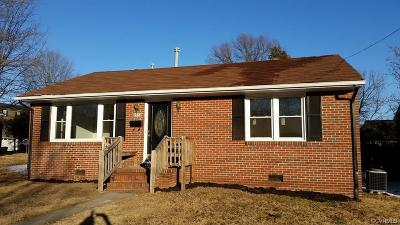 Colonial Heights Single Family Home For Sale: 2313 Franklin Avenue