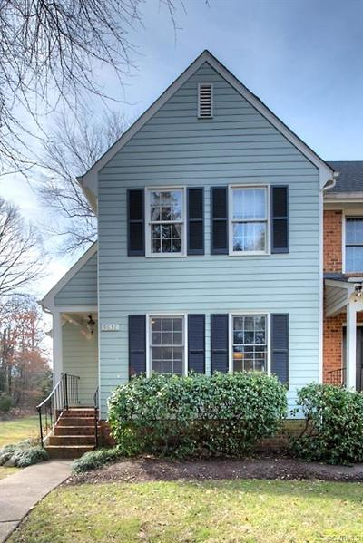 Chesterfield County Condo/Townhouse For Sale: 9631 Paddock Grove Court #7