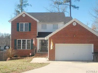 Chester Single Family Home For Sale: 13506 Laughter Court