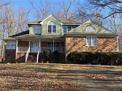 Powhatan Single Family Home For Sale: 2016 Judes Ferry Road