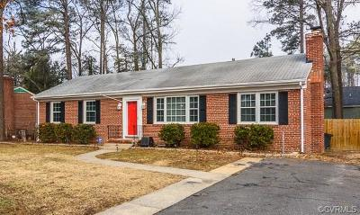 Henrico Single Family Home For Sale: 8906 Avalon Drive