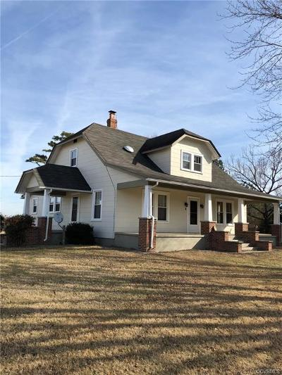 Nottoway County Single Family Home For Sale: 1483 Walnut Hill Road